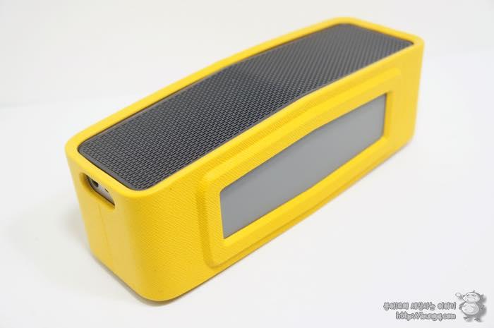 LG, 포터블 스피커, NP7550, 범퍼케이스, 노란색, 노랑, 디자인