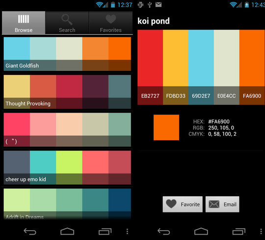 Best Decorating Apps: 디자이너에게 추천하는 안드로이드 어플 소개