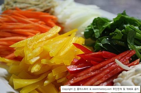 명절음식, 추석음식, 잡채, 만드는 법
