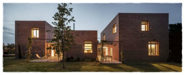 폴딩도어 서진토스템. :: 붉은 벽돌집과 잘 어울리는 접이문 폴딩 ...
