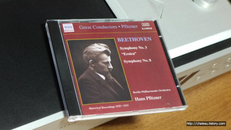 베토벤 교향곡 음반열전 #4 - 교향곡 제3번 '영웅' & 8번 : 피츠너 (Naxos, 1929/1933)