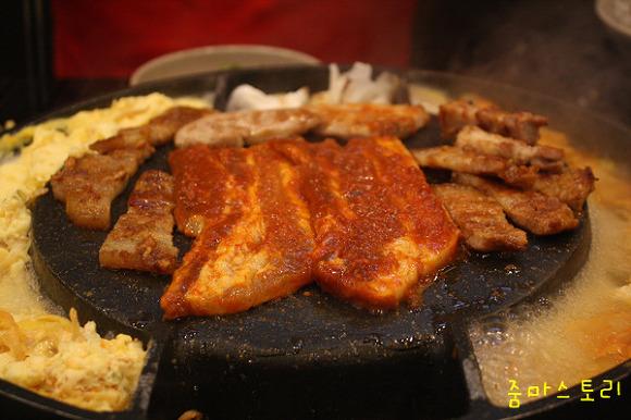 주전자 고기