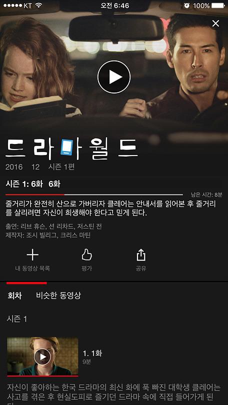 넷플릭스(Netflix) 오리지널 드라마, 드라마월드,