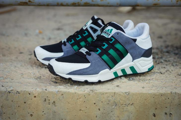 Adidas Eqt Support Rf Women Round Toe Suede Running Shoe