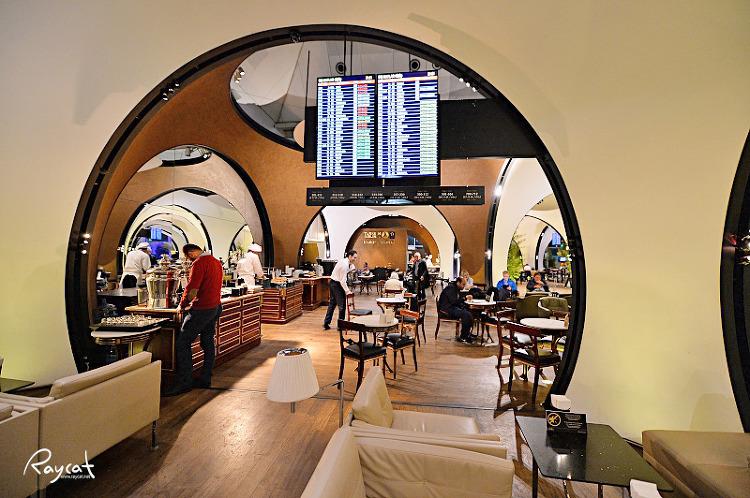 터키공항 터키항공 CIP 라운지 레스토랑