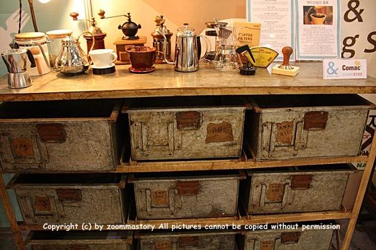 커피박람회, 커피, 기구