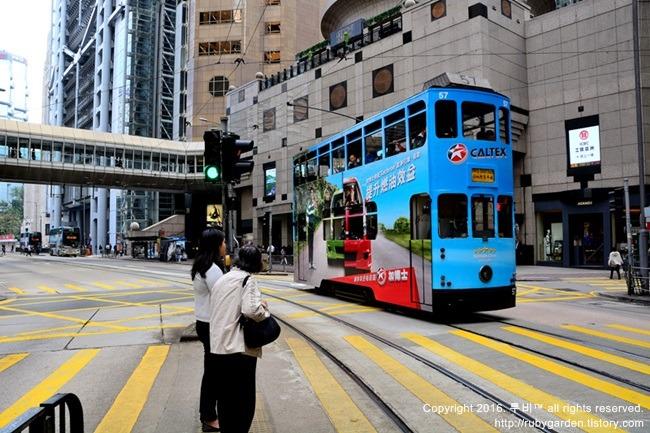 홍콩 여행 / '땡땡~'느려서 더 좋은 홍콩 트램 (트램 노선도,트램 운행 시간, 트램 요금, 트램 동영상)