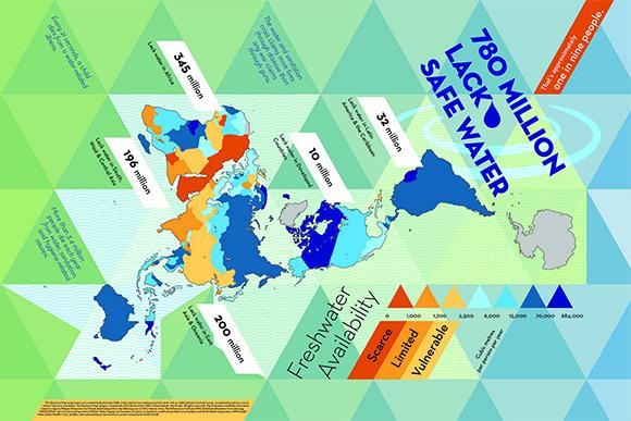 슬로워크 :: 이제까지의 세계지도는 가짜였다
