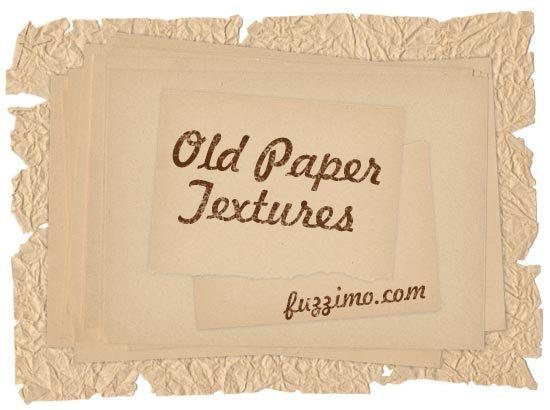 12 가지 무료 포토샵 오래된 구겨진 낡은 종이 텍스쳐 - 12 Free Photoshop Old Paper Textures