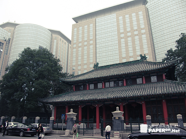 과거와 현재가 공존하는 베이징 시내