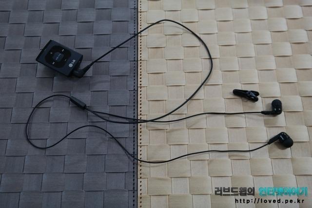 LG 블루투스 헤드셋 BTS1 이어폰 줄