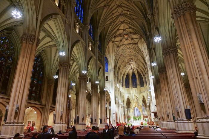 4. 세인트 패트릭 성당 St. Patrick's Cathedral 뉴욕 내부