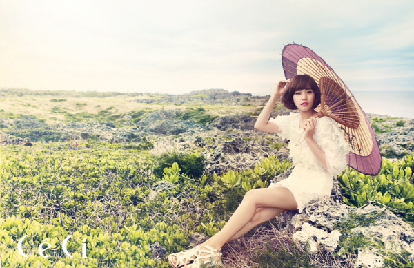 조윤희 Korean popular Actress Cho Youn-Hee's natural beauty and the sea of ​​Okinawa. 3