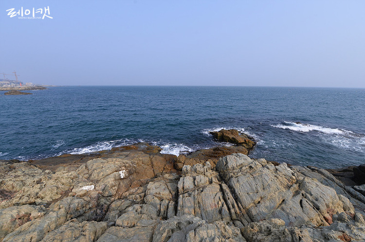 해동용궁사 바다