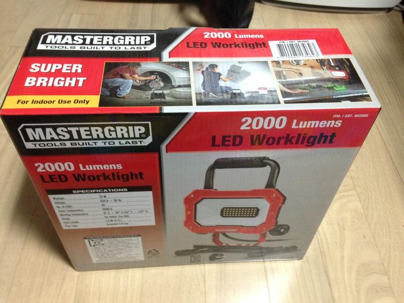 코스트코발 MasterGrip 2000 Lumens_LED Worklight