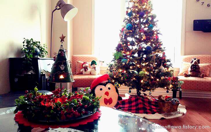 크리스마스트리 입니다.