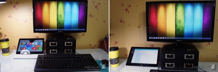 LG, 탭북2, 탭북2014, 확장, 서브모니터, 24