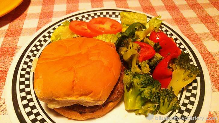 햄버거 세트 입니다