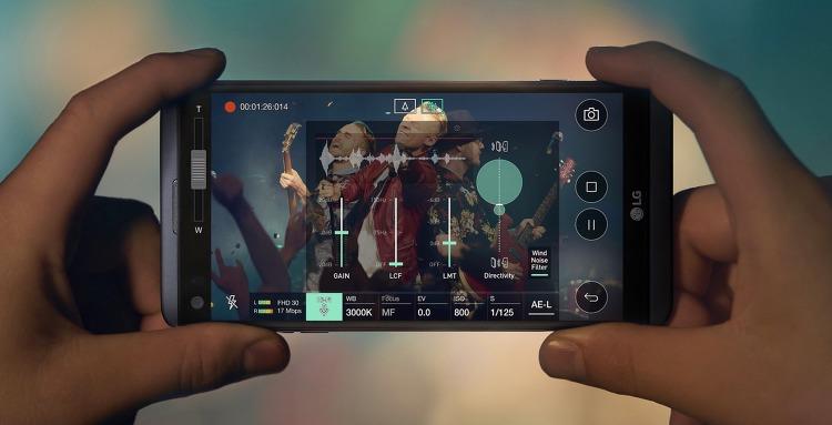 LG V20 동영상 전문가 모드