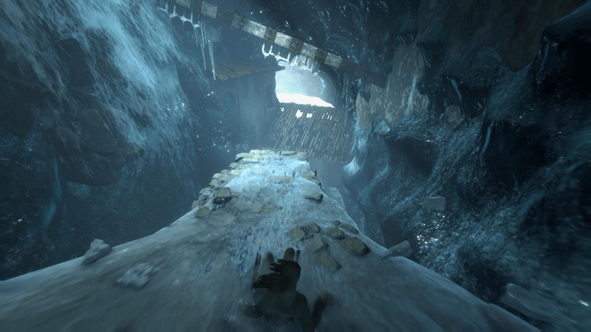 라이즈 오브 더 툼레이더 공략 - 빙하를 지나