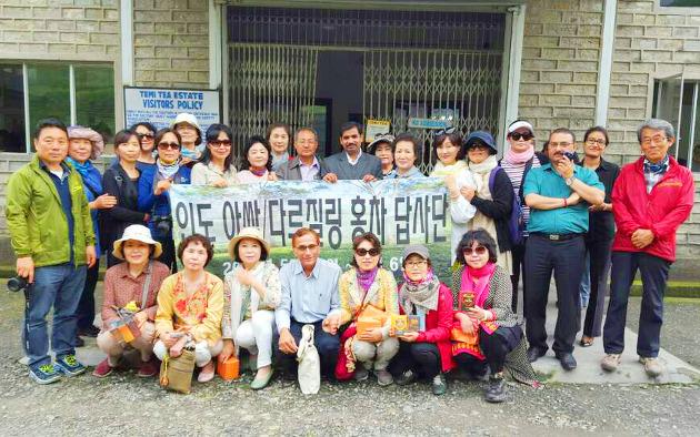 한국 차 전문가, 애호가들의 인도 홍차 탐방
