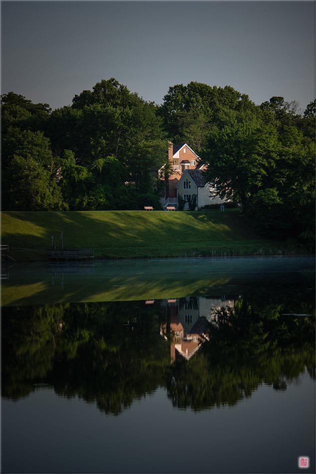 [메릴랜드] 호수가의 집