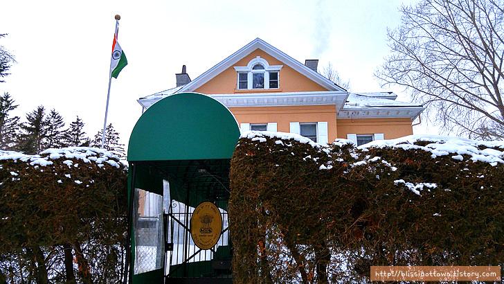 캐나다 부자 동네 인도 대사관저