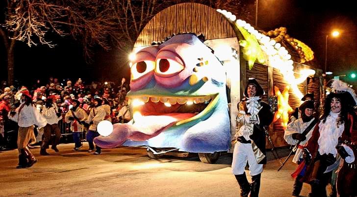 퀘벡 Carnaval 입니다