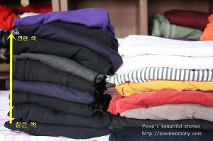 옷장정리, 옷, 정리,티정리, 노하우