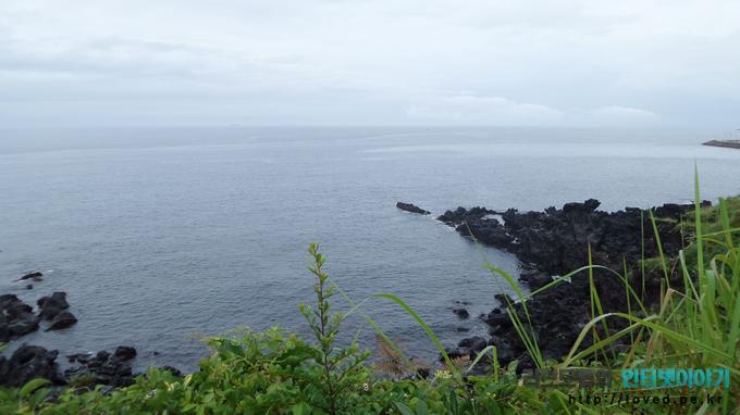 용두암 앞바다