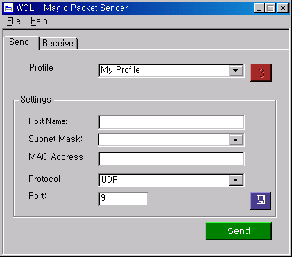 WOL - Magic Packet Sender