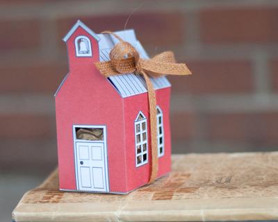 집 종이모형 선물상자 만들기