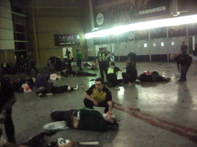 [사설]용서할 수 없는 영국 맨체스터 공연장 테러