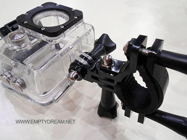 SJ4000 액션캠 액세서리 장착기