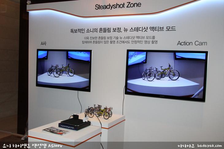 소니 하이엔드 액션캠 AS100V