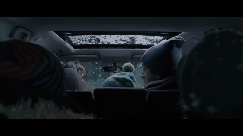 닛산 로그 자동차 광고 - '윈터 워리어'편: