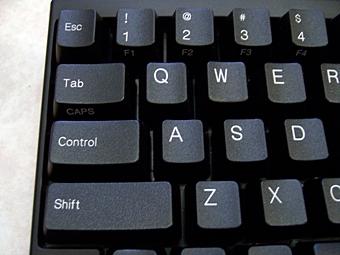 컨트롤 (Control) 키의 위치