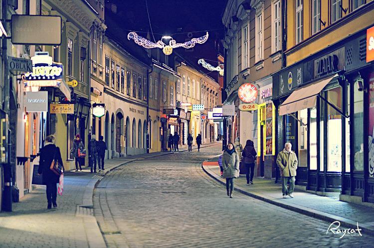 자그레브의 밤