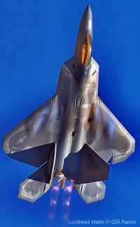 록히드마틴 F22 랩터  Lockheed Martin F-22 Raptor