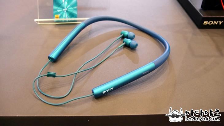 넥밴드형 블루투스 이어폰 소니 h.ear in Wireless