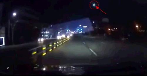 수원 운석, 블랙박스에 찍힌 동영상 1