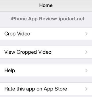 Crop Video 아이폰 아이패드 동영상 잘라내기
