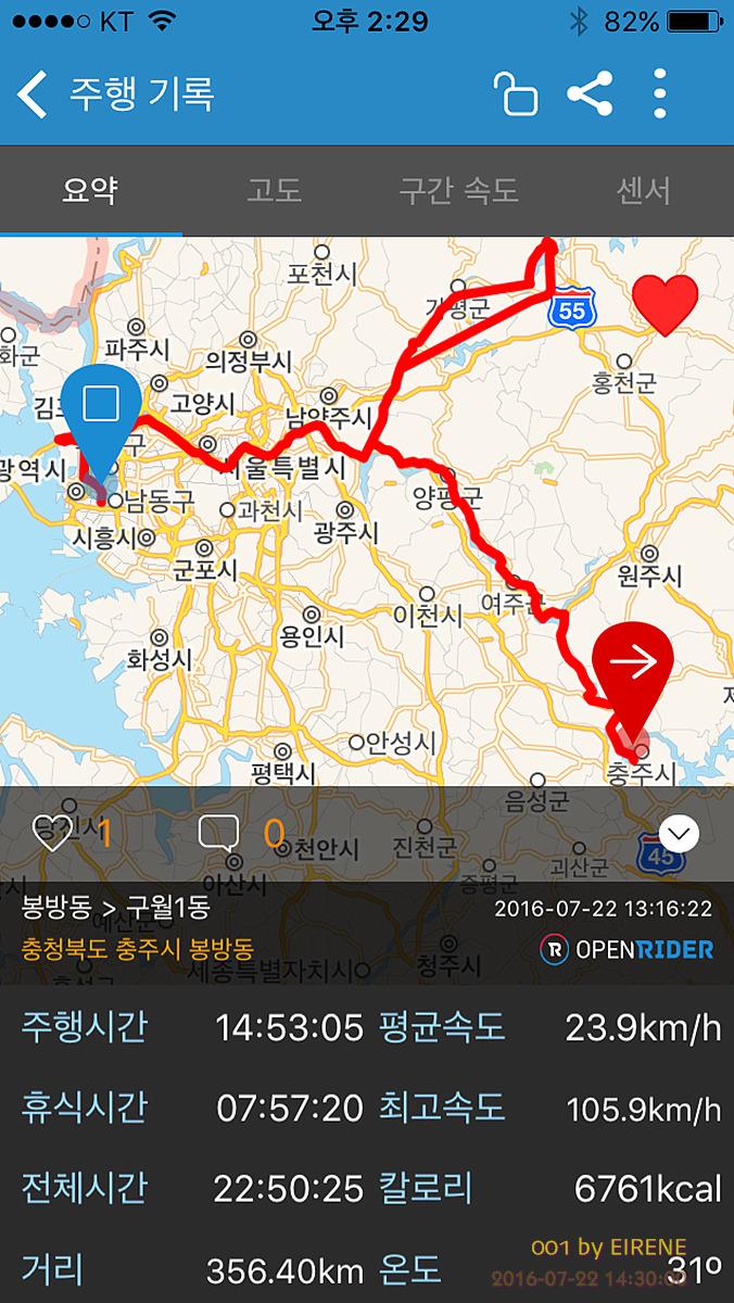 [두바퀴 삶 이야기] 남한강~북한강~한강~아라서해갑문