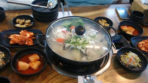 명가 만두 전골 3인분