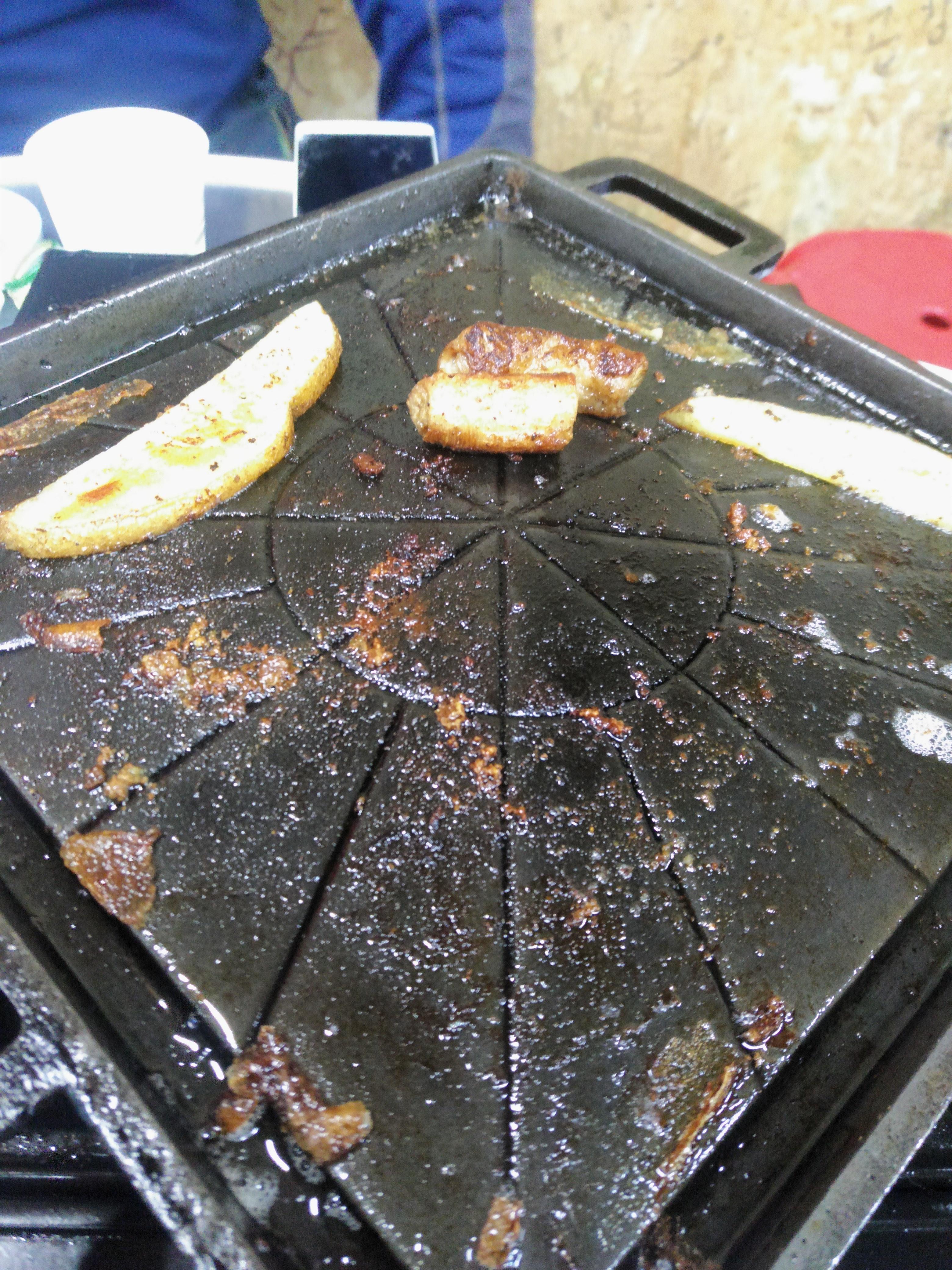 불판 감자