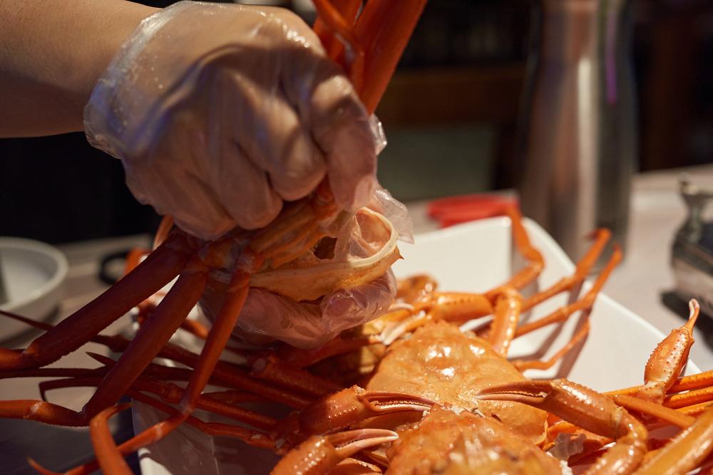 홍게데이 광안점 홍게 먹는법 1