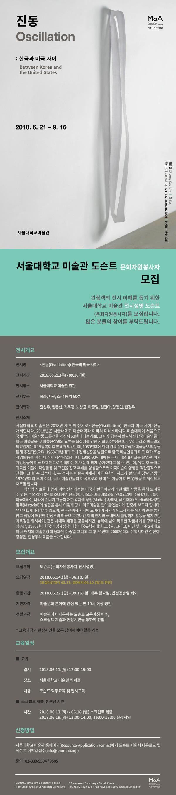 진동(Oscillation): 한국과 미국 사이