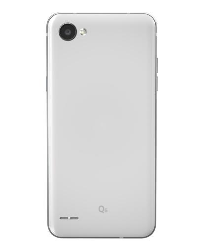 LG Q6 후면