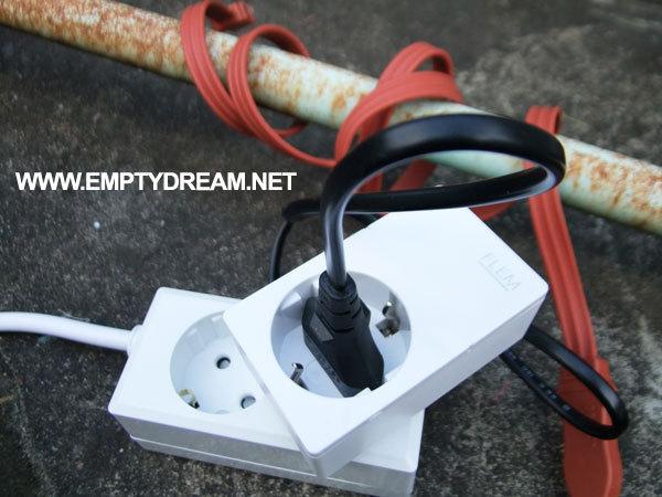 편리한 수도관 동파 방지 시스템 구축 - 열선과 스마트 플러그 이용