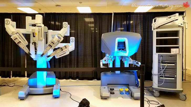 로봇 수술 다빈치입니다